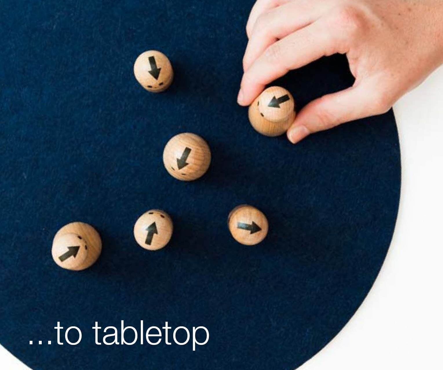 to tabletop